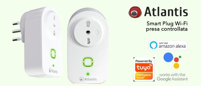 Smart Plug Wi-Fi Presa Controllata Compatibile con Amazon Alexa