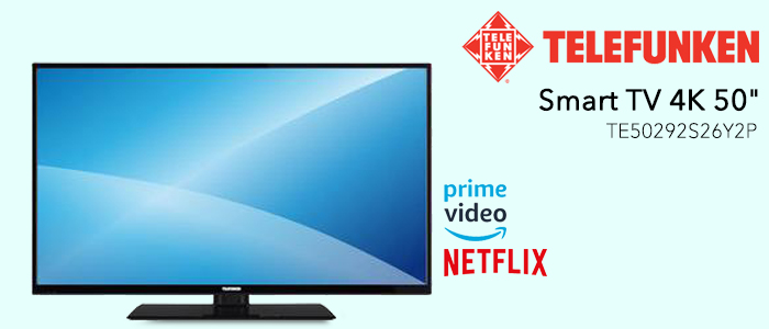 elefunken Smart TV 4K 50TE50292S26Y2P