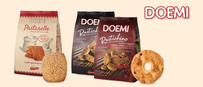 Doemi: Rustichini, Pastarelle e Tortine