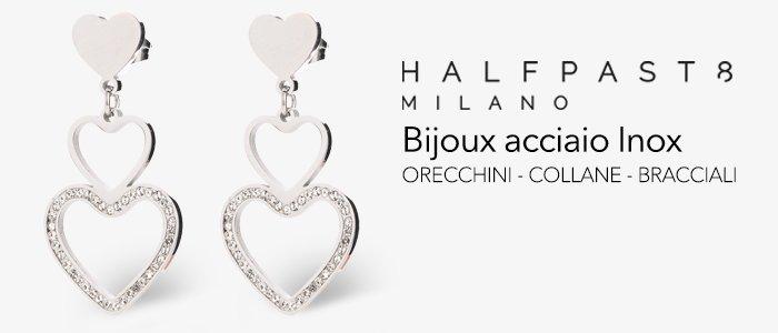 HALFPAST8 Bijoux Collane, bracciali orecchini