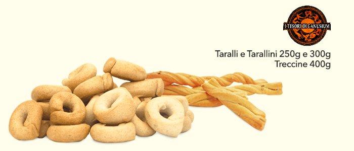 Tarallini e Treccine: Racconti del grano e I Tesori di Canusium