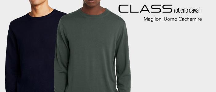 Class Cavalli Maglioni Uomo Cachemire
