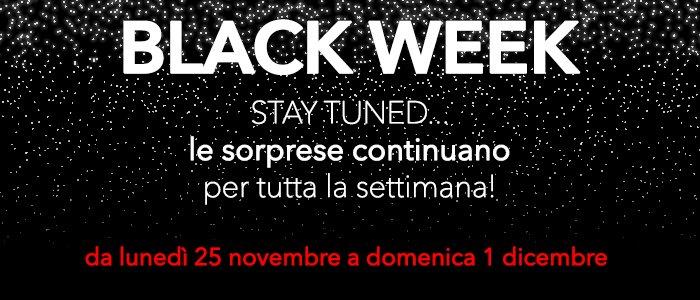 Black Week 2019: una settimana di offerte