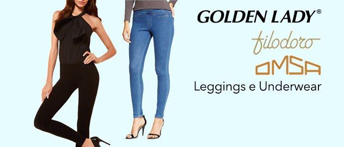 Golden Lady, Omsa, Filo D'oro: Leggings e Underwear