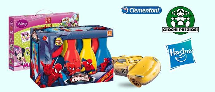Speciale Giocattoli Giochi Preziosi, Hasbro Clementoni