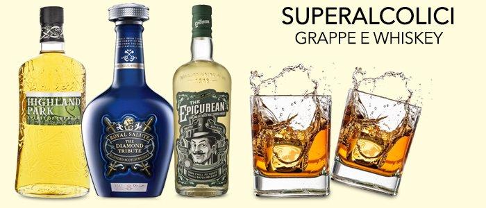 Super Alcolici, Grappe Whisky