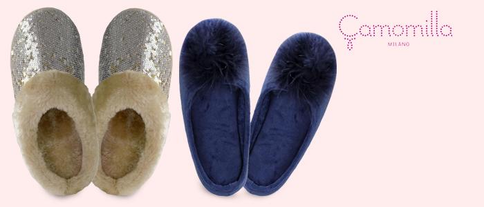 Camomilla Pantofole e Slippers