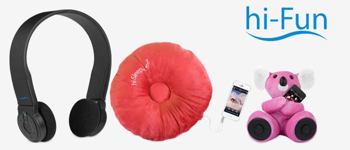 Hi-Fun: Cuffie, Guanti, Speaker e accessori hi-tech