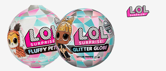 L.O.L. Surprise: Fluffy Pets e Glitter Globe