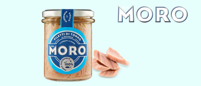 Moro Filetti di Tonno al Naturale 190g