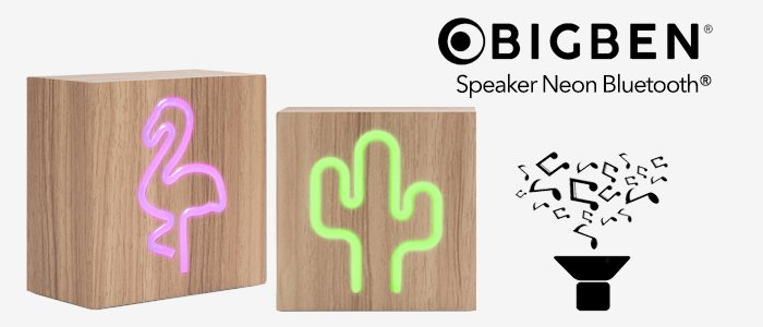 Bigben Interactive: Speaker Neon Bluetooth®