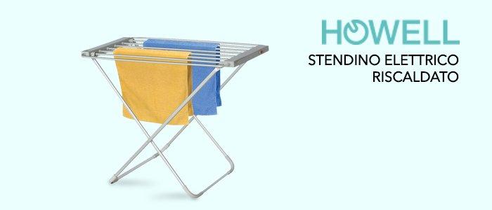 Howell Stendino Elettrico Riscaldato