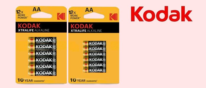 Kodak Pile Xtralife Alkaline