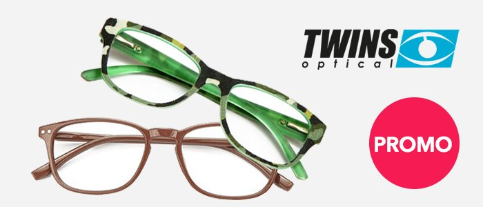 PROMO: Twins Optical Occhiali da Vista
