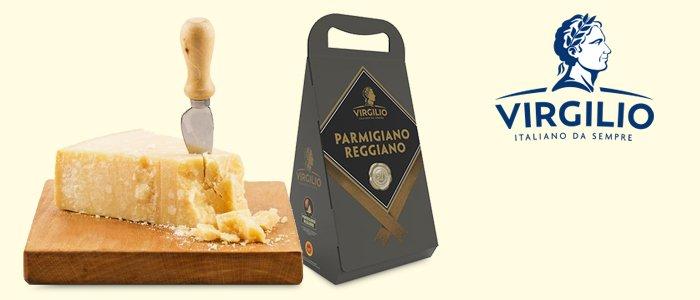 Virgilio: Parmigiano Reggiano DOP oltre 30 Mesi 700g
