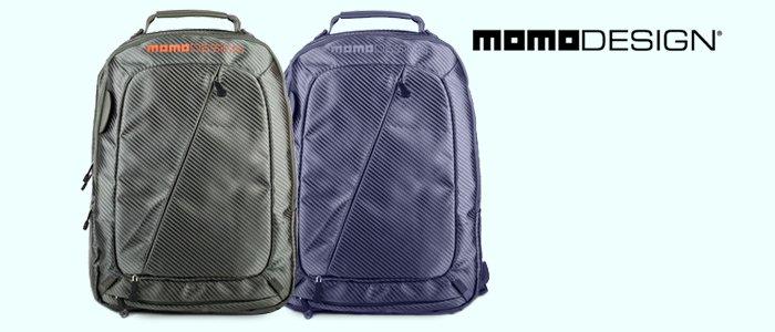 Momo Design: Zaini, Cartelle porta PC, Borselli