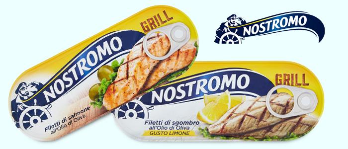 Nostromo Grill: Filetti di Salmone e Sgombro