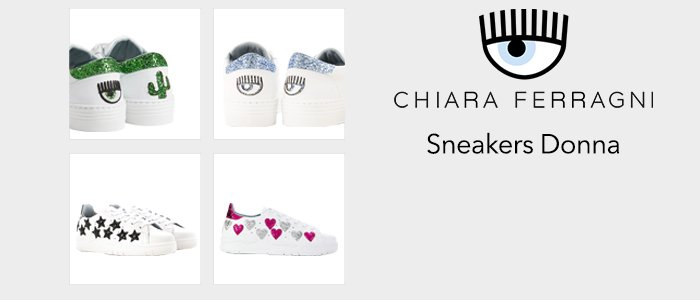 Chiara Ferragni Collection: Sneakers Donna