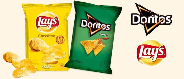 Lay's e Doritos: Patatine e Tortilla