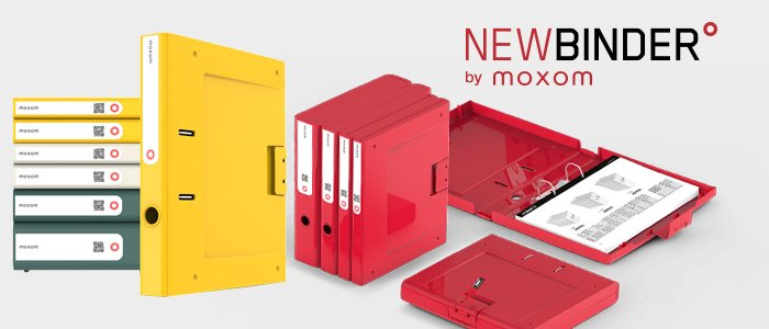 NewBinder by Moxom: Raccoglitori da Ufficio