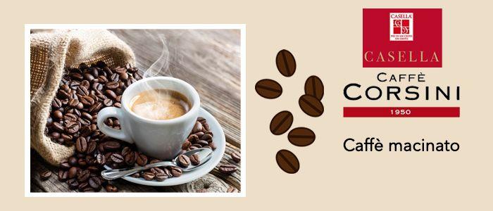 Caffè Macinato in Latta e Sacchetto
