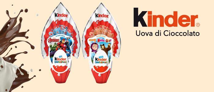 Kinder GranSopresa Uova di Cioccolato