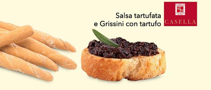 Passione Tartufo! Salsa e Grissini