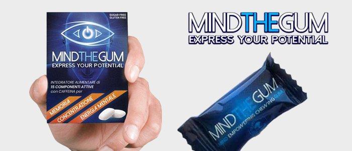 Mind The Gum: integratore per concentrazione ed energia mentale