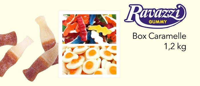 Ravazzi Gummy: Box Caramelle 1,2 kg
