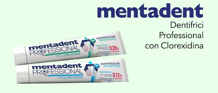 Mentadent: dentrificio azione intensiva e prolungata 75ml