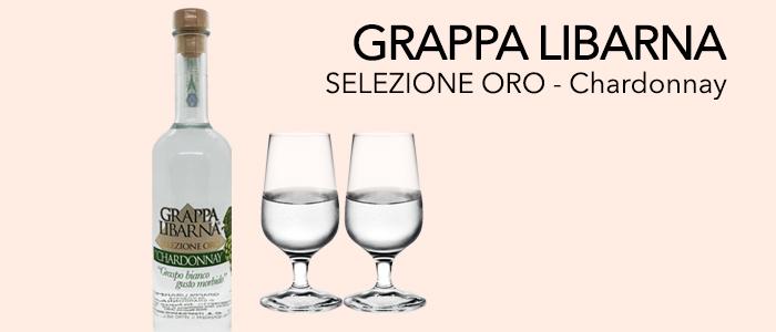 Grappa Libarna Selezione Oro Chardonnay