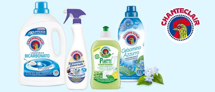 Chanteclair: Detergenti Casa e Bucato