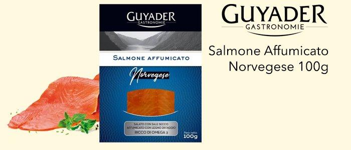 Guyader Gastronomie: Salmone Affumicato Norvegese 100g