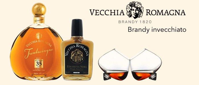 Vecchia Romagna Brandy Invecchiato