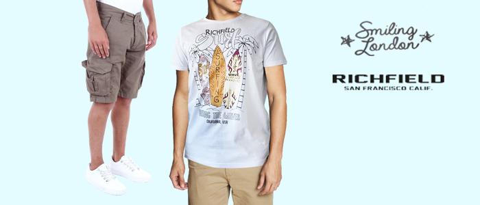 Smiling London, Jacob Smith, Richfield: Bermuda e T-Shirt Uomo