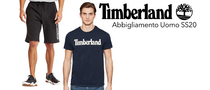 Timberland abbigliamento uomo SS20