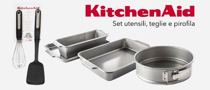 KitchenAid: set utensili, teglie e pirofila