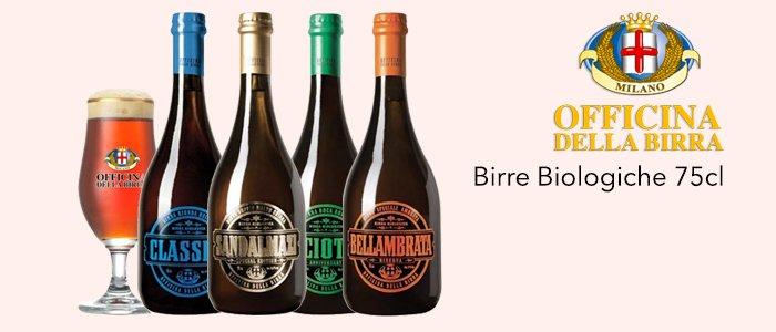 Officina della Birra: Birre Biologiche 75cl