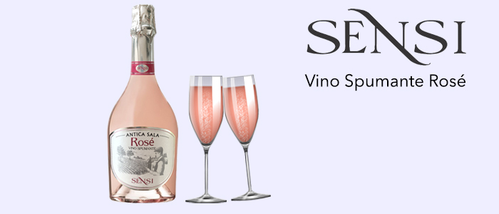 Cantine Sensi: Vino Spumante Rosé