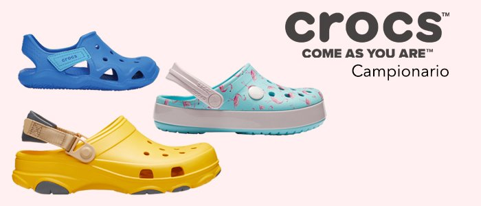 Crocs calzature: Campionario Uomo, Donna, Bambino