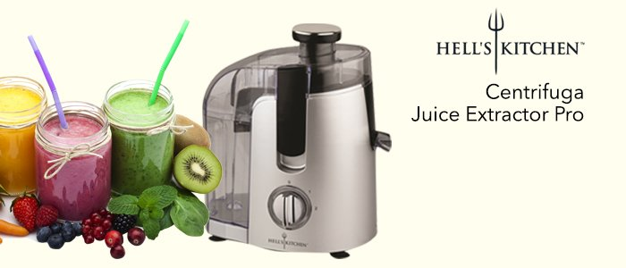 Hell's Kitchen Centrifuga: Juice Extractor Pro