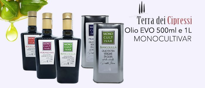 Terra dei Cipressi: Olio EVO Monocultivar