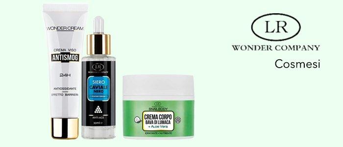 Wonder Company Cosmesi: creme corpo e viso