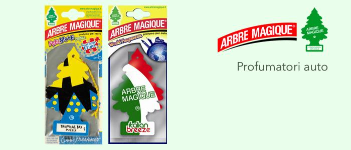 Arbre Magique: profumatori per auto
