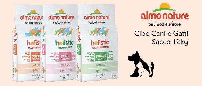 Almo Nature: Cibo Cani e Gatti Sacco 12Kg