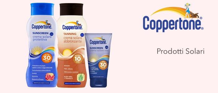Coppertone: creme solari e abbronzanti