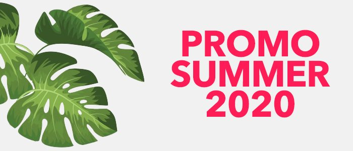 SPECIALE PROMO SUMMER 2020