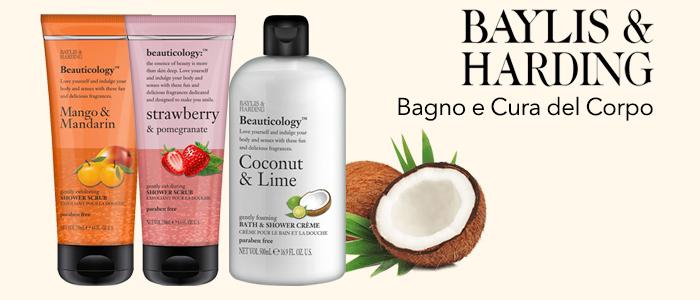 Baylis & Harding England: Bagnodoccia, Creme Mani, Scrub e Bagno Crema