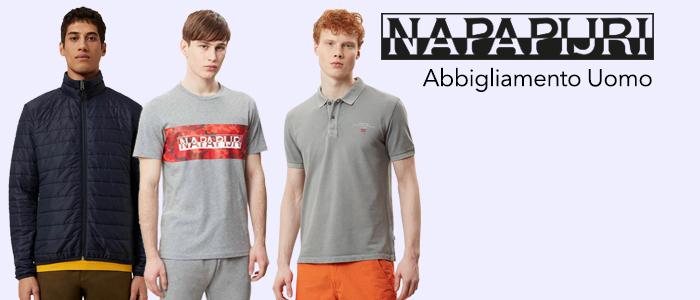 Napapijri: t-shirt, polo, felpe e giubbini