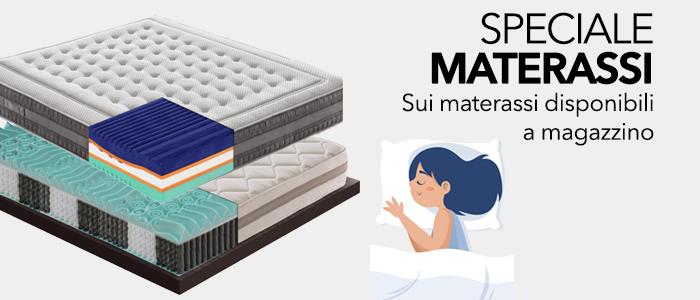 PROMO: Materassi EXTRA SCONTO -10% - sui materassi disponibili a magazzino